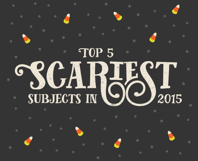 5 Scariest Subjects of 2015